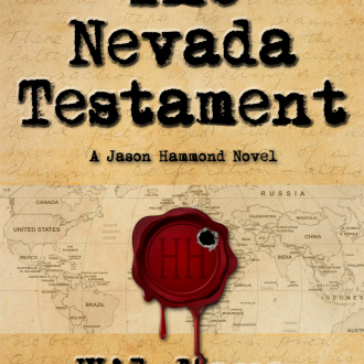 The Cover for 'The Nevada Testament'!
