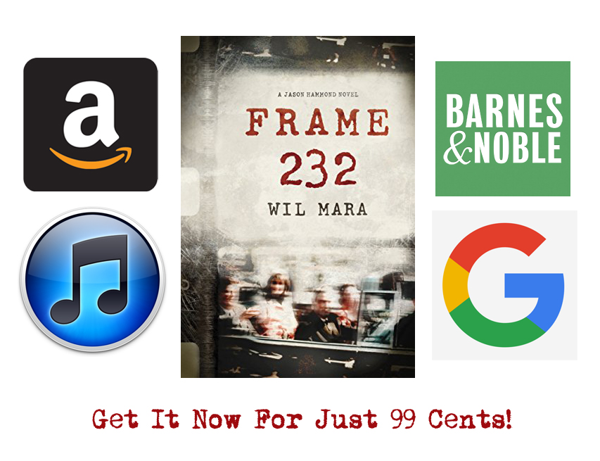 <i>Frame 232</i> Available Now For Just 99 Cents!