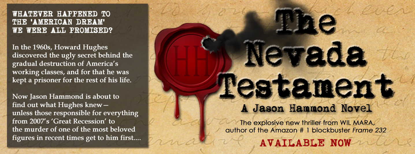 New Jason Hammond Novel 'The Nevada Testament' Out Now